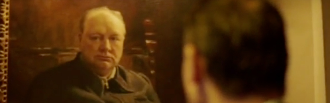 Winston Churchill: Blood, Sweat and Oil Paint
