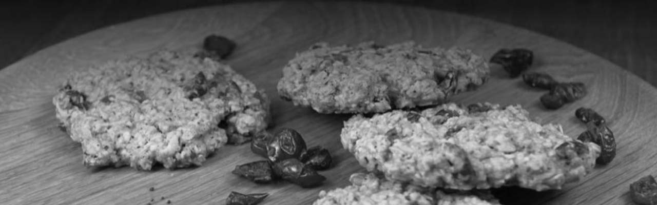 Try this! Oat Cookies with Liquorice, Denmark