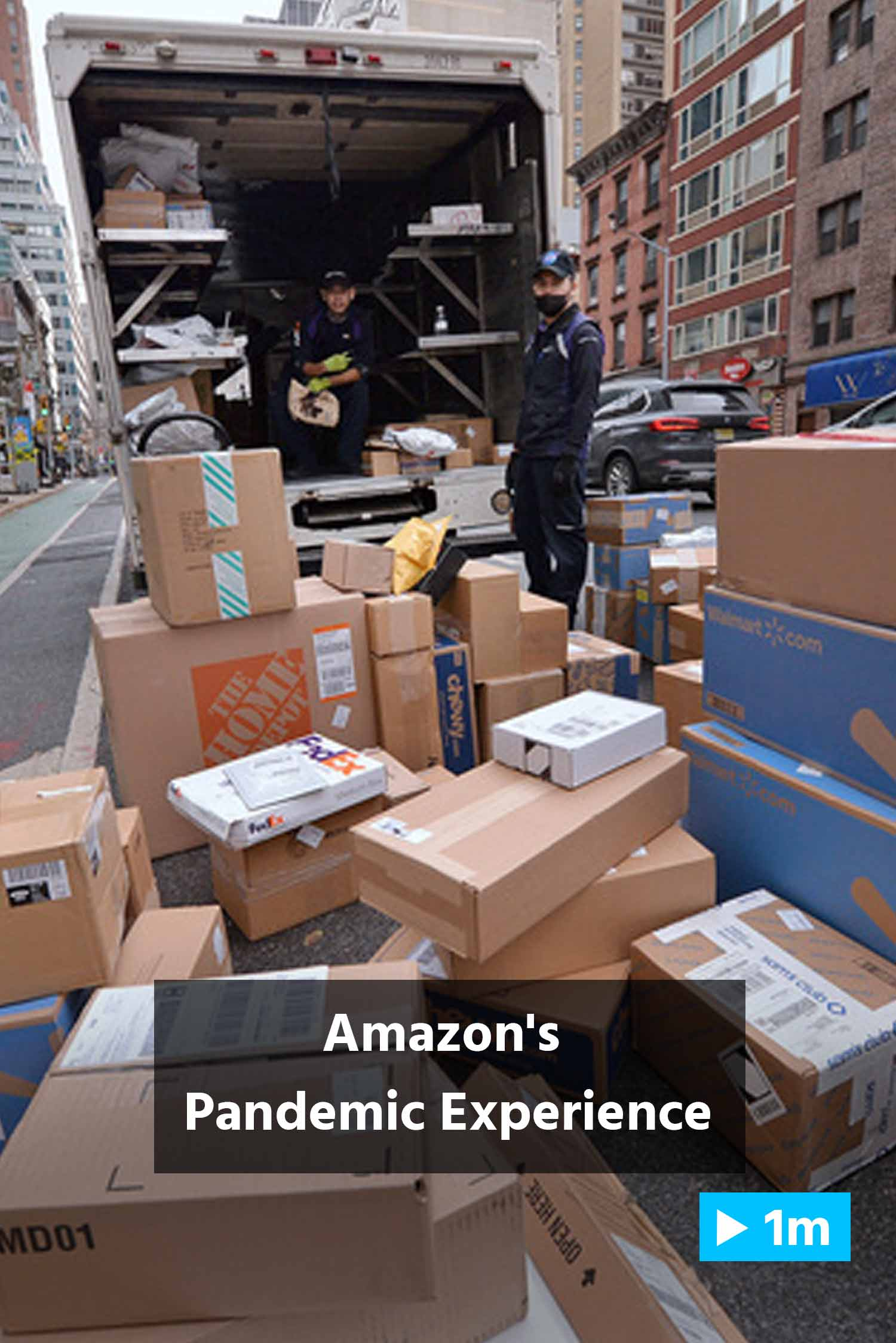 Reuter's Report: Amazon's Pandemic Experience