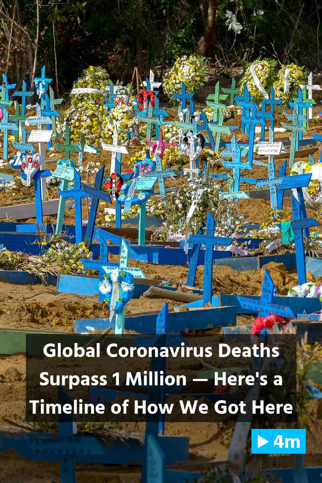 Reuter's Report: Global coronavirus deaths surpass 1 million — Here's a timeline of how we got here