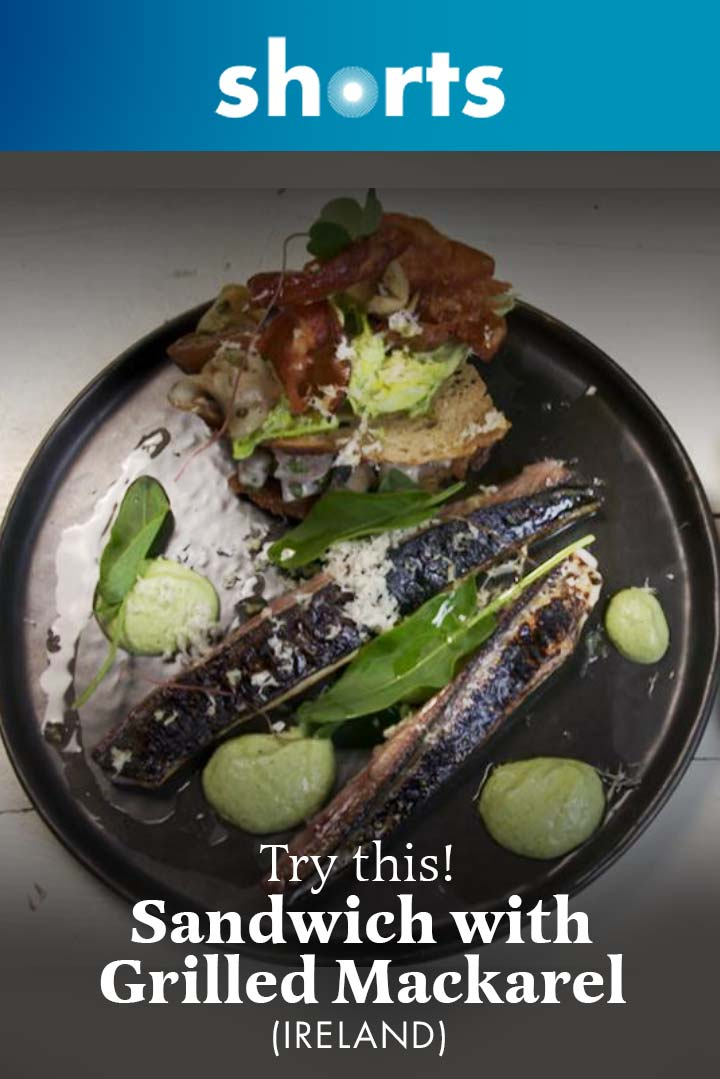 Try This! Sandwich with Grilled Mackerel, Ireland