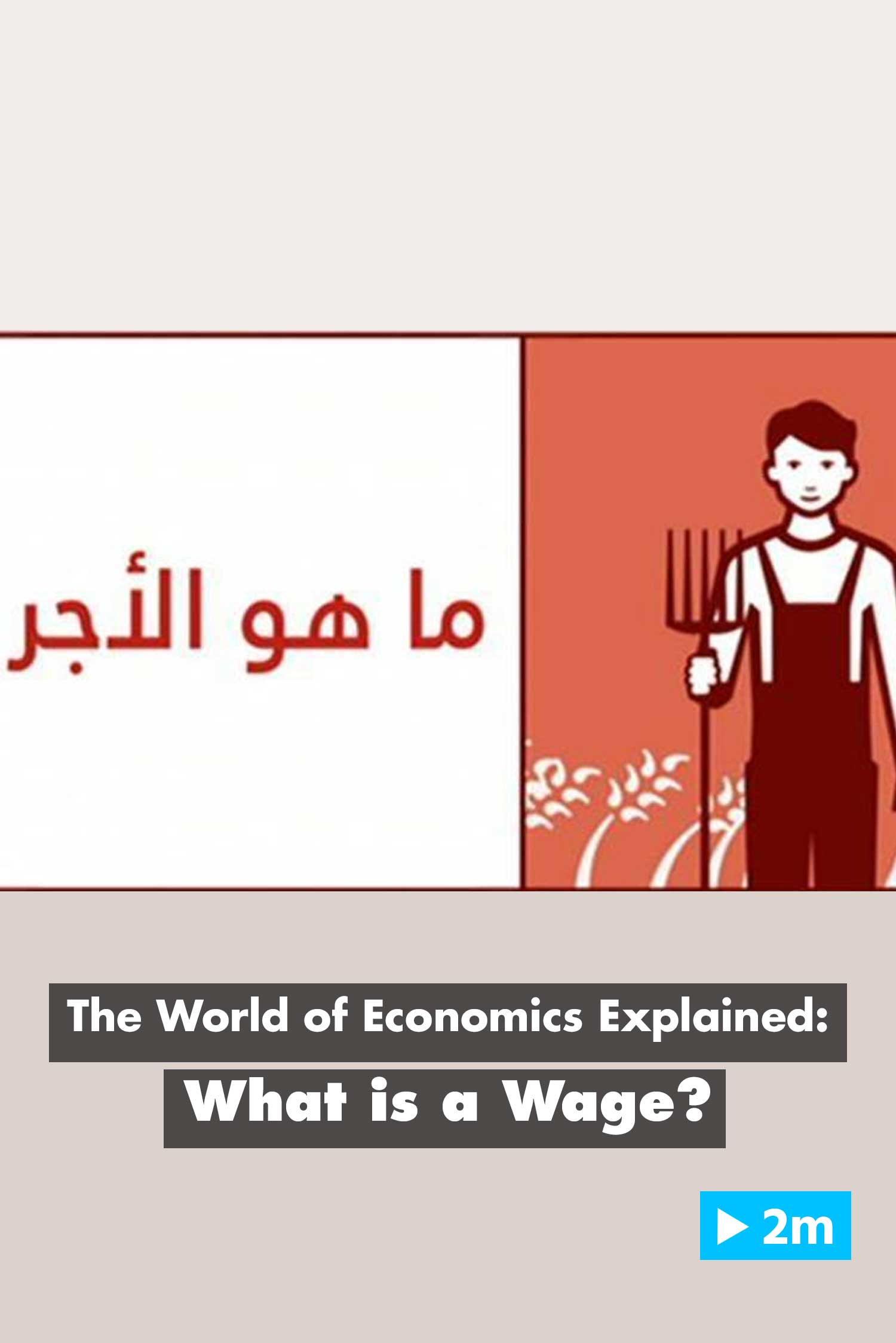The World of Economics Explained: What is a wage?
