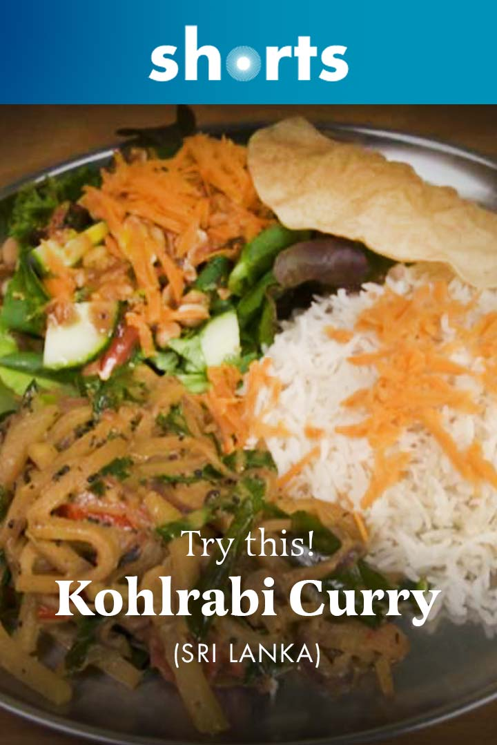 Try This! Kohlrabi Curry, Sri Lanka