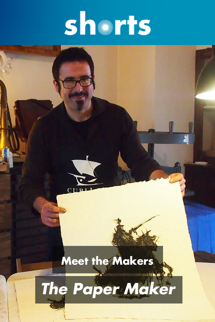 Meet the Makers: The Paper Maker
