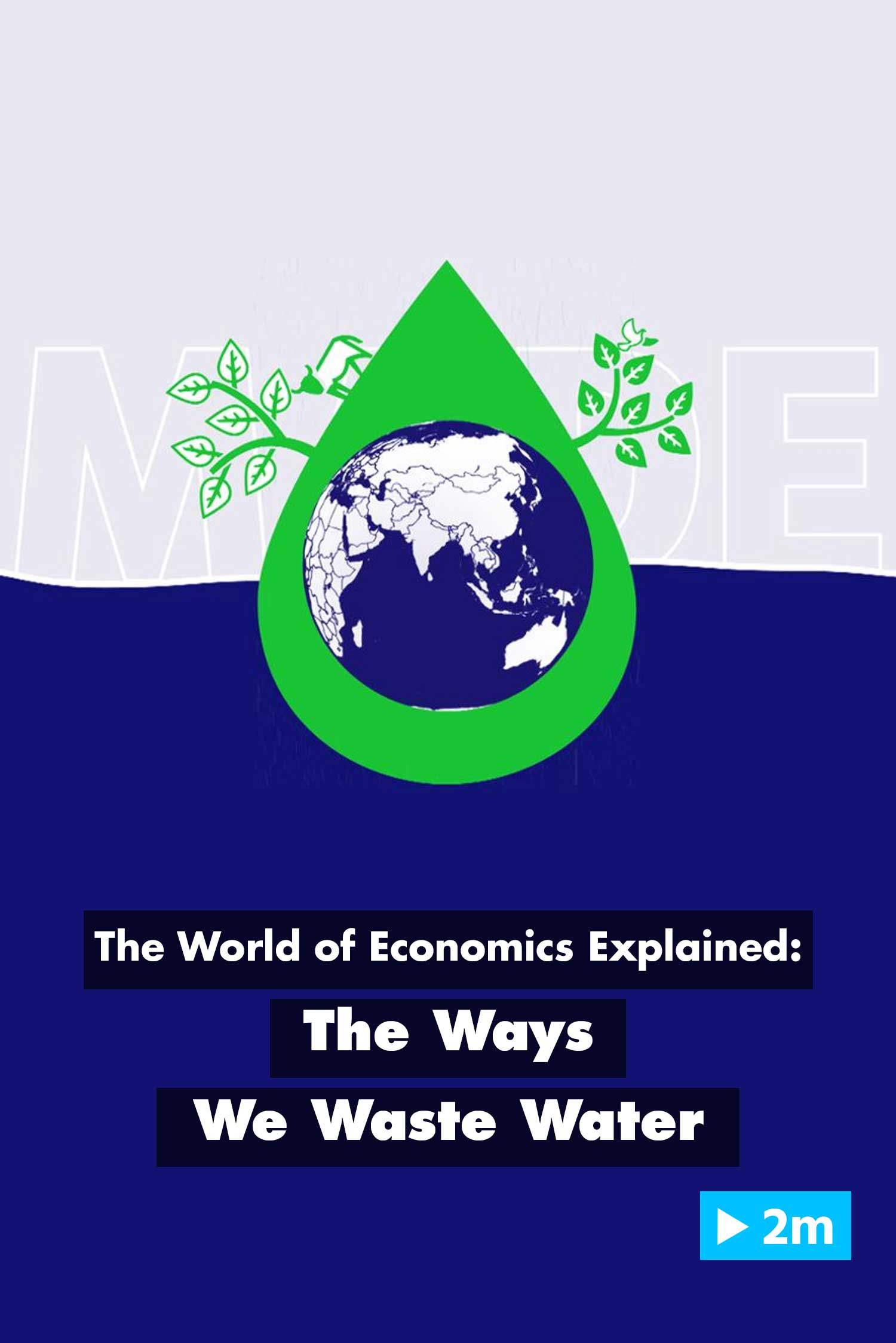 The World of Economics Explained: The Ways We Waste Water