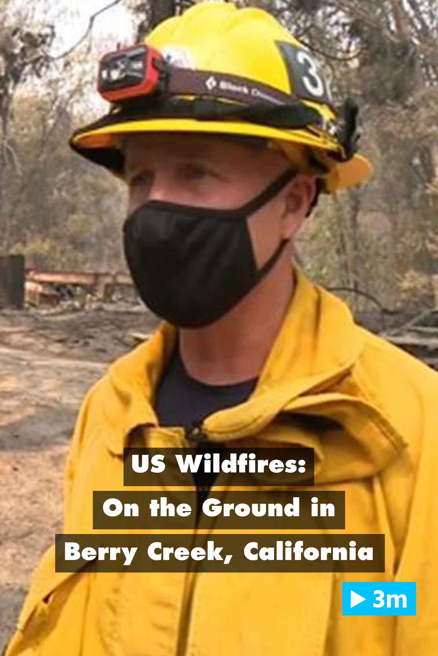 Editor's Choice: US wildfires: On the ground in Berry Creek, California