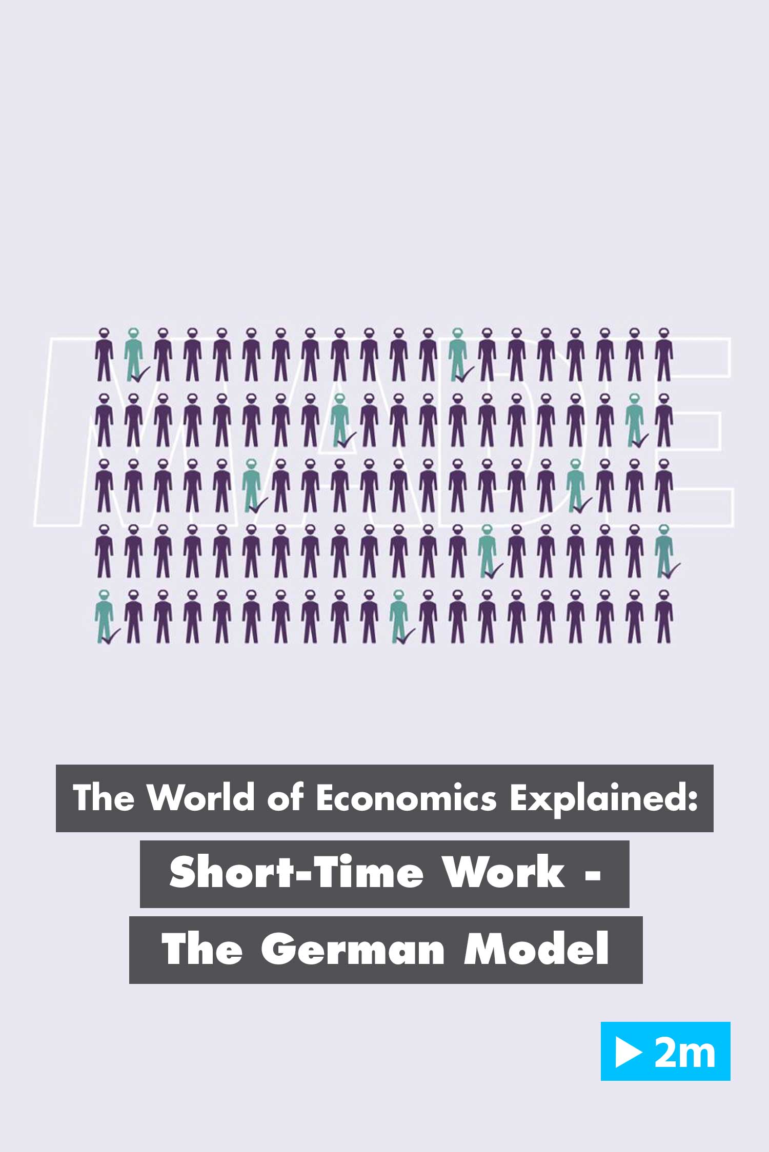 The World of Economics Explained: Short-Time Work - The German Model